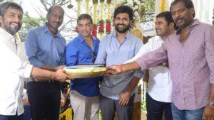 Sharwanand Hanu Raghavapudi's New Movie Launched at Ramanaidu Studios HD Photos