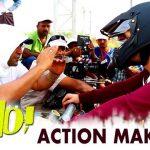 HELLO! Movie Action Making   Akhil Akkineni, Kalyani Priyadarshan   Vikram K Kumar   Nagarjuna