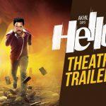 HELLO! Telugu Movie Theatrical Trailer 1080P HD – Akhil Akkineni, Kalyani Priyadarshan Vikram K Kumar