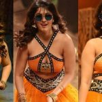 Surbhi Hot ULTRA HD Photos in Okka Kshanam Dillore Dillore Song | Surabhi Orange Dress Images Stills Gallery