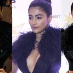 Pooja Hegde ULTRA HD Photos at Hello Hall Of Fame Awards 2018 | Pooja Hegde Black Gown Images, Stills, Gallery