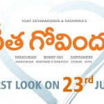 Vijay Devarakonda Geetha Govindam Movie First Look ULTRA HD Posters WallPapers | Rashmika Mandanna