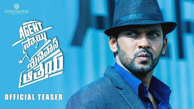 Agent Sai Srinivasa Athreya Official Teaser Hd 1080p