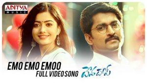 Emo Emo Emoo Full Video Song HD 1080P   Devadas Telugu Movie Devadas Video Songs   Nagarjuna, Nani, Rashmika Mandanna, Aakanksha Singh   Mani Sharma