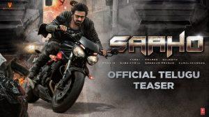 Saaho Official Teaser Trailer HD 1080P Video – Prabhas, Shraddha Kapoor, Sujeeth, Ghibran
