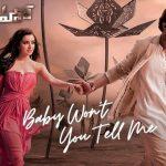 Baby Won't You Tell Me Full Video Song HD 1080P | Saaho Telugu Movie Saaho Video Songs | Prabhas, Shraddha Kapoor | Shankar Ehsaan Loy