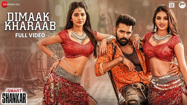 Dimaak Kharaab Full Video Song Hd 1080p Ismart Shankar