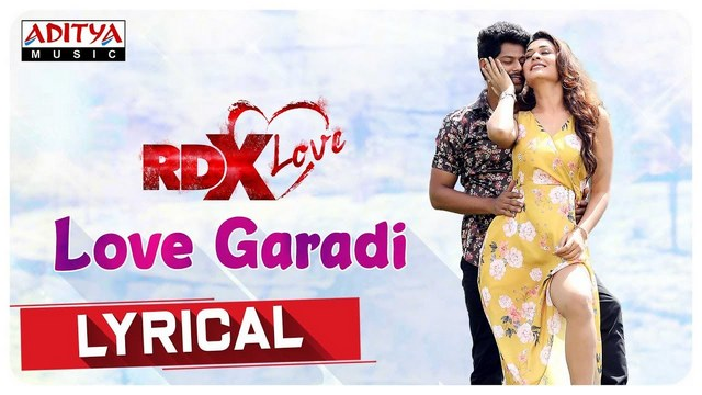 Love Garadi Full Video Song HD 1080P   RDXLove Telugu Movie RDXLove Video  Songs   Tejus Kancherla, Payal Rajput   Radhan   25CineFrames