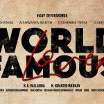 Vijay Deverakonda World Famous Lover Movie First Look ULTRA HD Posters WallPapers | Rashi Khanna, Aishwarya Rajesh, Catherine Tresa, Izabelle Leite