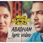 Abadham Full Video Song HD 1080P   Meeku Maathrame Chepta Telugu Movie Meeku Maathrame Cheptha Video Songs   Tharun Bhascker Dhaassyam, Vani Bhojan, Vijay Deverakonda, Anasuya Bharadwaj   Sivakumar