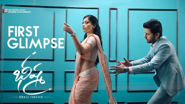 Bheeshma First Glimpse Hd 1080p Video Nithiin Rashmika Mandanna Venky Kudumula Mahati Swara Sagar 25cineframes