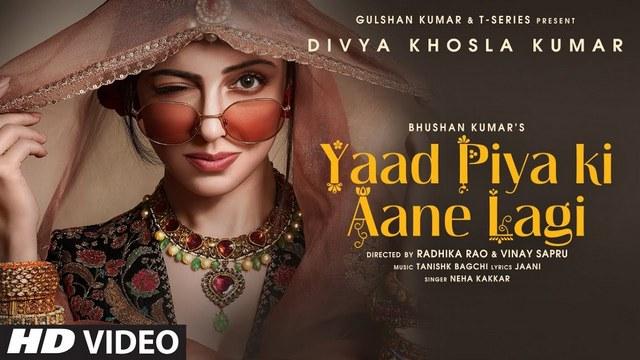 Yaad Piya Ki Aane Lagi Full Video Song HD 1080P | Divya