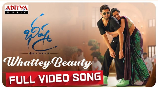Whattey Beauty Full Video Song Hd 1080p Bheeshma Telugu Movie Bheeshma Video Songs Nithiin Rashmika Mandanna Mahati Swara Sagar 25cineframes