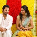 Actor Nithin Shalini Engagement HD Photos