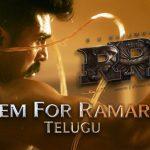 Bheem For Ramaraju – RRR (Telugu) – Happy Birthday Ram Charan, Jr NTR, Ajay Devgn, Alia Bhatt, Olivia Morris, SS Rajamouli