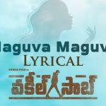Maguva Maguva Full Video Song HD 1080P | Vakeel Saab Telugu Movie Vakeel Saab Video Songs | Pawan Kalyan, Nivetha Thomas, Anjali, Ananya Nagalla | Thaman S